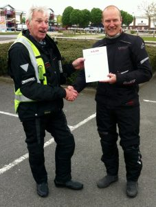 advanced riding test pass - our success is your success!