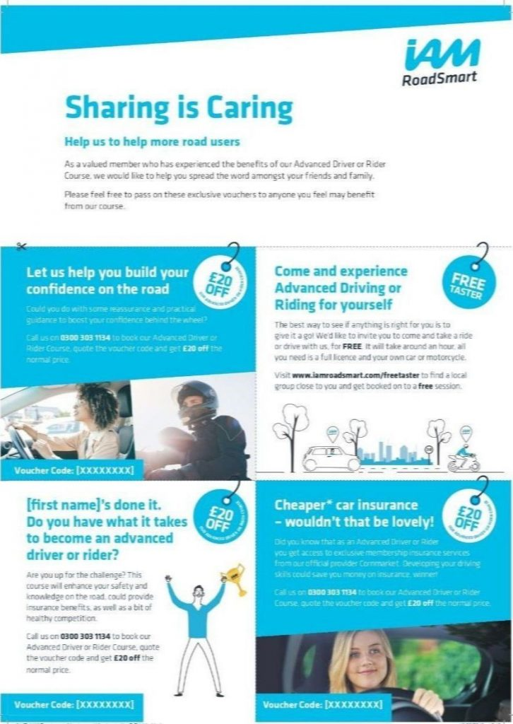IAM RoadSmart - Sharing is Caring Campaign