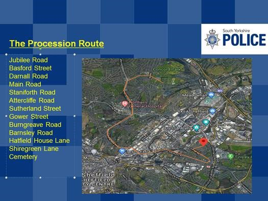 Sheffield Advanced Motorcyclists - SYP advise on travel disruption