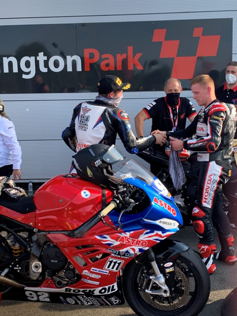 Sheffield Advanced Motorcyclists - Steve G's British Superbikes Race Report