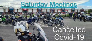 Sheffield Advanced Motorcyclists - Saturday Meetings Cancelled