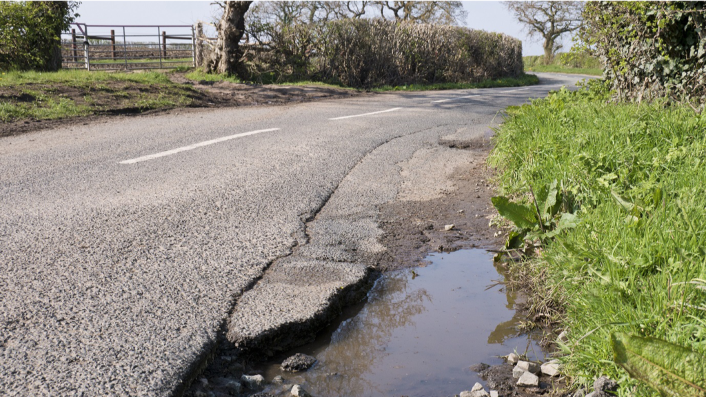 Sheffield Advanced Motorcyclists - growing concern over potholes on UK roads