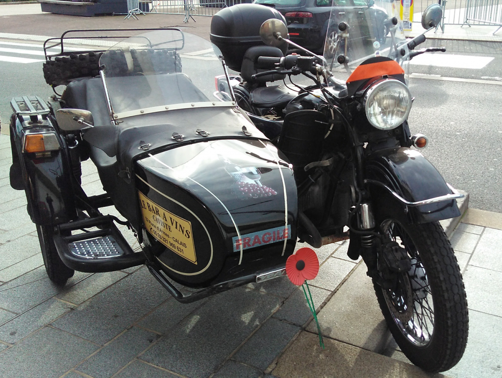 Ural paying respect to the fallen - Paul Conway