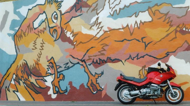 Street art at its best! - Micky Wheeler