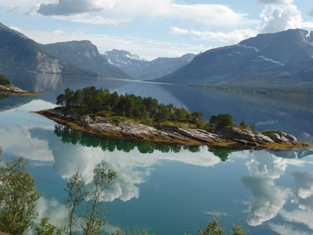 Reflections of Norway - Russ Pettet